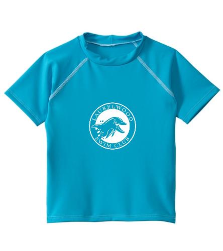 swim shirt 2 - Dolfin Unisex Kids' Rashguard (2T-7)