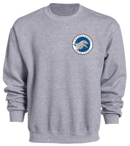 Laurelwood Swim Club - SwimOutlet Heavy Blend Unisex Adult Crewneck Sweatshirt