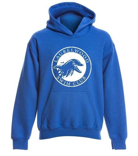 Laurelwood Swim Club - SwimOutlet Youth Heavy Blend Hooded Sweatshirt