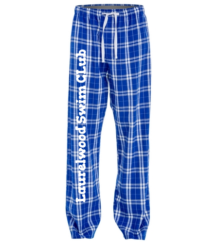Laurelwood Swim Club - SwimOutlet Unisex Flannel Plaid Pant