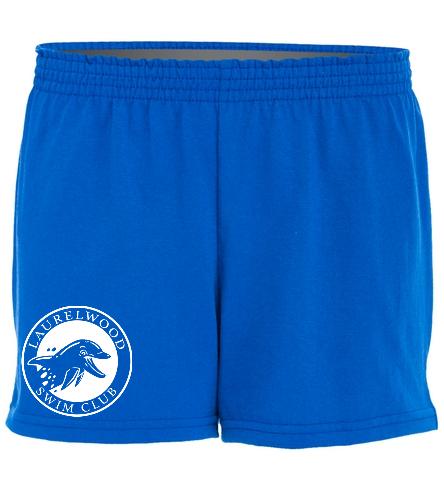 Laurelwood Swim Club - SwimOutlet Custom Women's Fitted Jersey Short