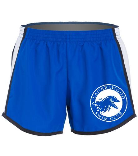 Laurelwood Swim Club - SwimOutlet Custom Unisex Team Pulse Short