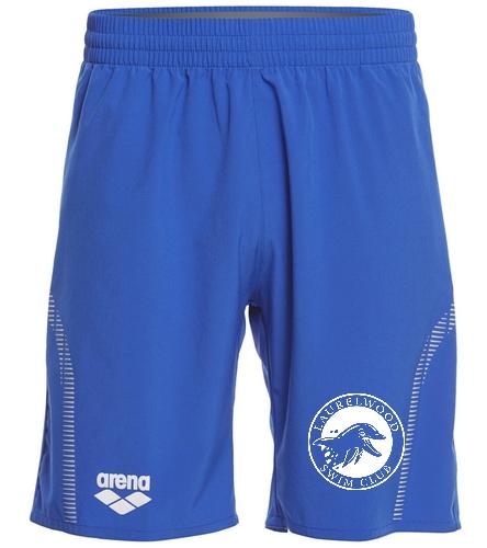 Laurelwood Swim Club - Arena Unisex Team Line Long Bermuda Short