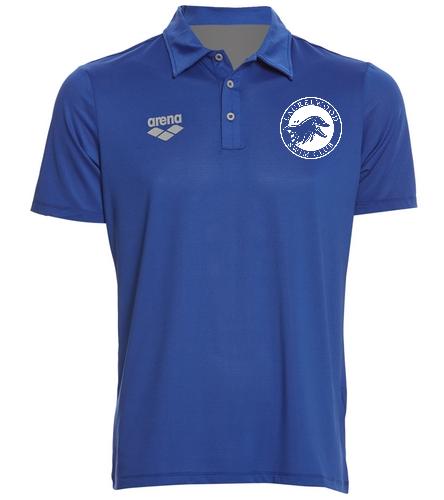 coach - Arena Unisex Team Line Tech Short Sleeve Polo