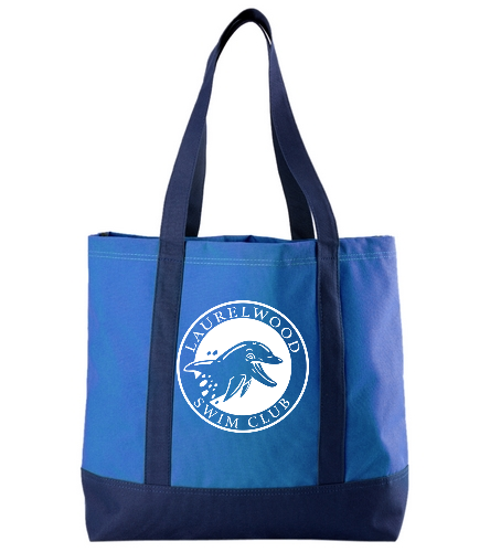 Laurelwood Swim Club - SwimOutlet Day Tote