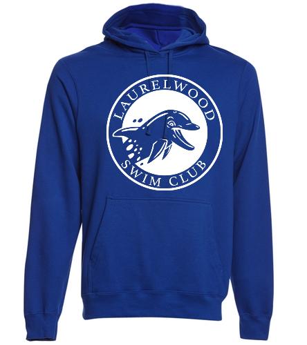 Laurelwood Swim Club - SwimOutlet Adult Fan Favorite Fleece Pullover Hooded Sweatshirt