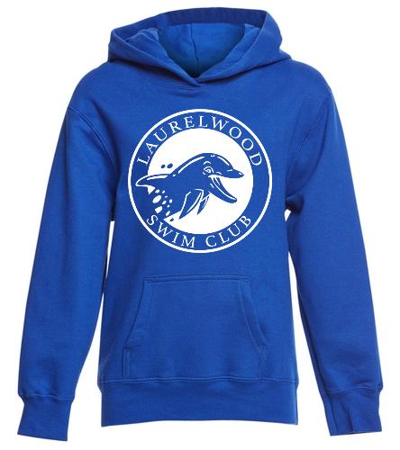 Laurelwood Swim Club - SwimOutlet Youth Fan Favorite Fleece Pullover Hooded Sweatshirt