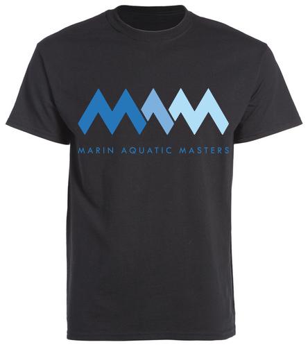 MAQ Back Tee - SwimOutlet Unisex Cotton Crew Neck T-Shirt