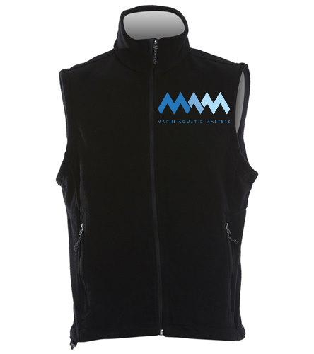 MAQ Fleece vest - SwimOutlet Adult Men's Fleece Vest