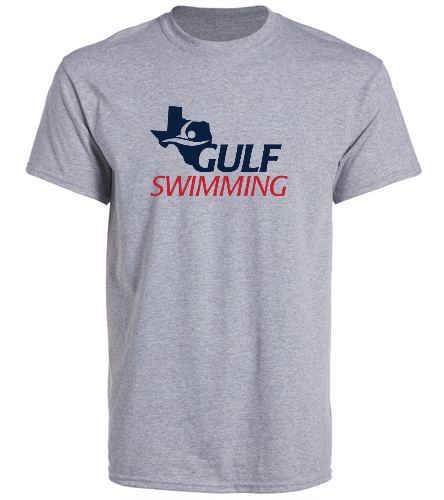 Gulf Swimming Tee - SwimOutlet Unisex Cotton Crew Neck T-Shirt