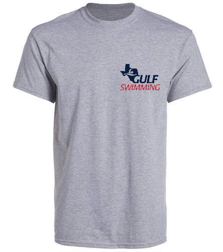 Meet Tee Grey Back - SwimOutlet Unisex Cotton Crew Neck T-Shirt