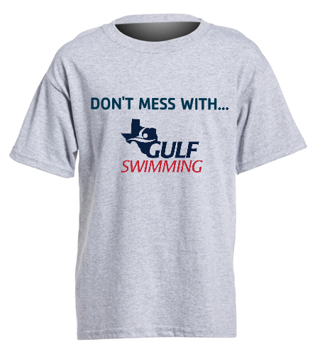 Don't Mess Youth Tee - SwimOutlet Youth Cotton Crew Neck T-Shirt