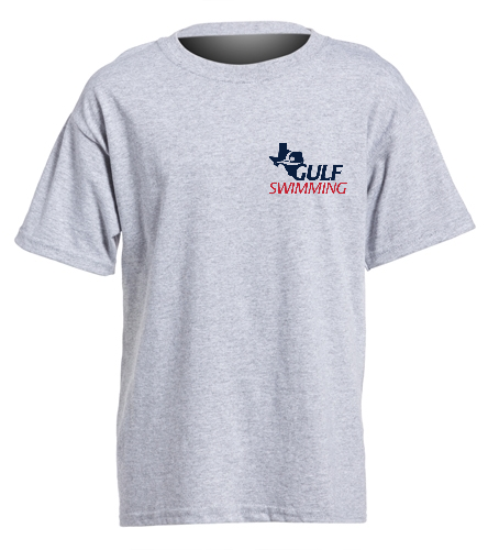 Funvitational Youth Grey - SwimOutlet Youth Cotton Crew Neck T-Shirt