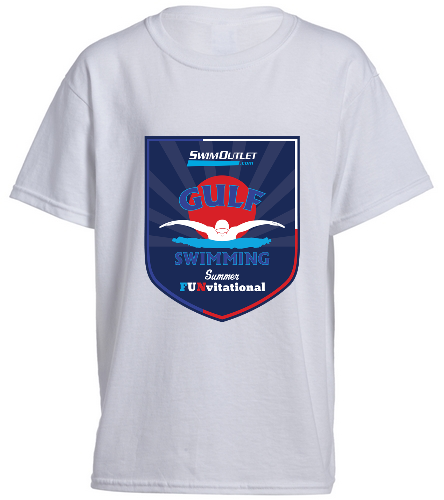 Youth Tee Front - SwimOutlet Youth Cotton Crew Neck T-Shirt