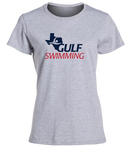 Womens Gulf Tee - SwimOutlet Women's Cotton Missy Fit T-Shirt