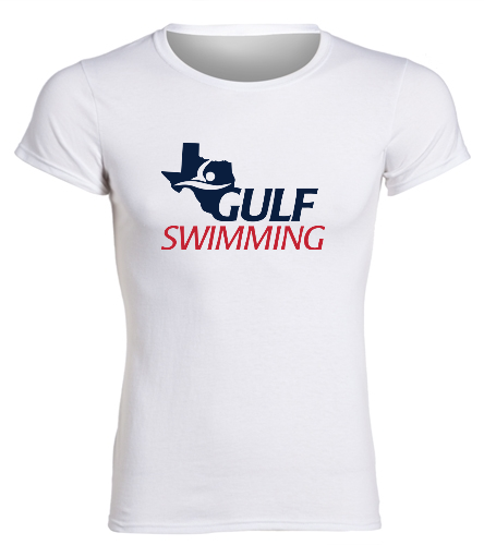 Women's Gulf Tee White - SwimOutlet Women's Cotton Missy Fit T-Shirt