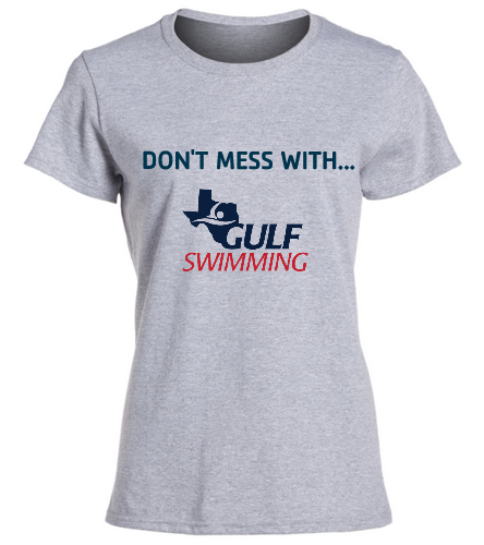 Don't Mess Women's Tee - SwimOutlet Women's Cotton Missy Fit T-Shirt
