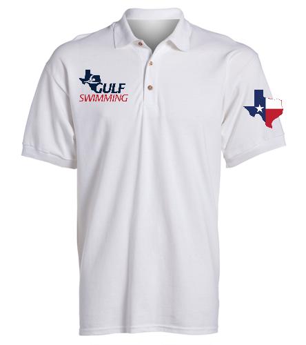 Official's Cotton Polo Men's - SwimOutlet Ultra Cotton Adult Men's Pique Sport Shirt