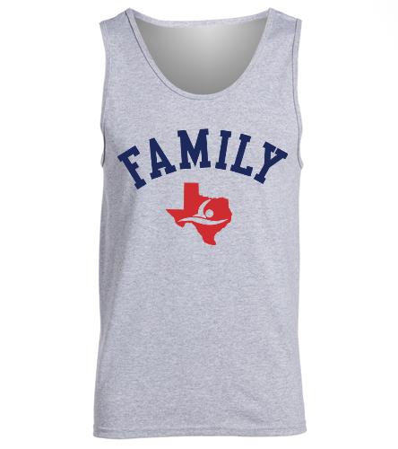 Gulf Family Tank - SwimOutlet Men's Cotton Tank Top