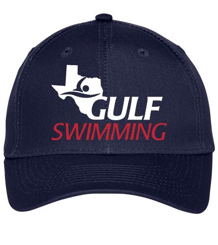 Gulf Cap - SwimOutlet Unisex Performance Twill Cap