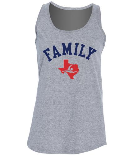 Family Tank - SwimOutlet Women's Cotton Racerback Tank Top