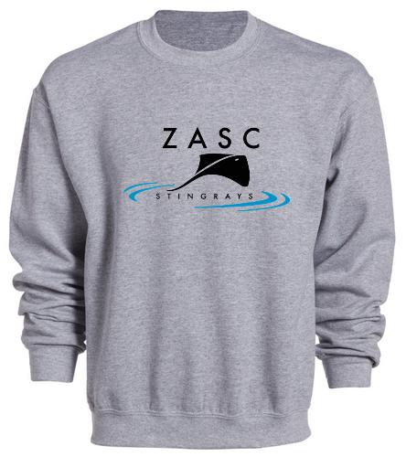 ZASC Adult Sweatshirt - SwimOutlet Heavy Blend Unisex Adult Crewneck Sweatshirt