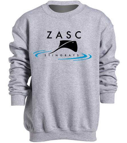ZASC Youth Sweatshirt - SwimOutlet Heavy Blend Youth Crewneck Sweatshirt