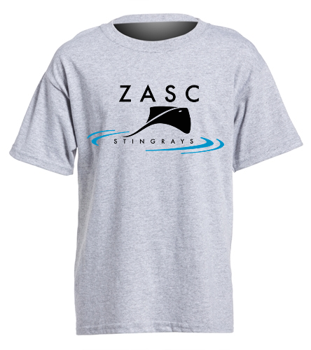ZASC Youth T-Shirt - SwimOutlet Youth Cotton Crew Neck T-Shirt
