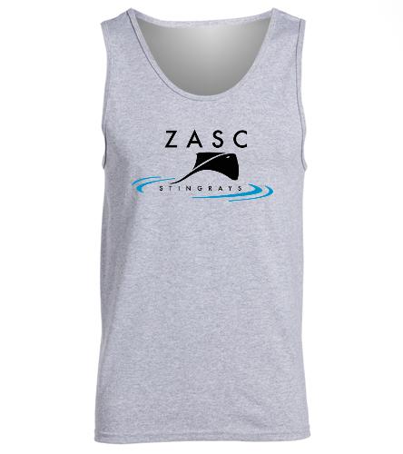 ZASC Adult Tank - SwimOutlet Men's Cotton Tank Top