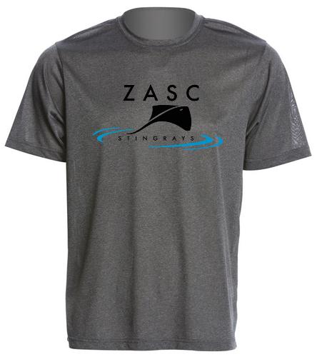 ZASC Men's Tec Tee - SwimOutlet Men's Tech Tee