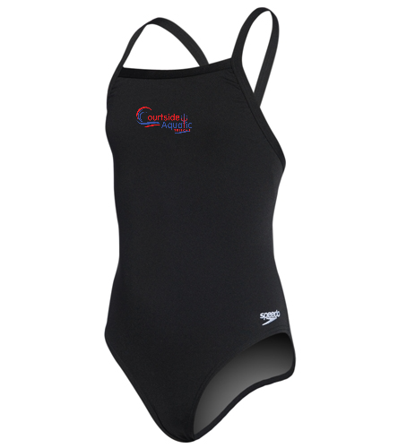Youth female suit - Speedo Girls' Solid Endurance + Flyback Training Swimsuit