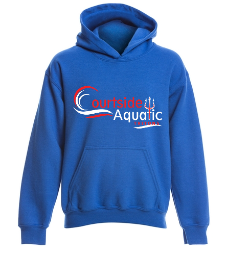 Courtside - SwimOutlet Youth Heavy Blend Hooded Sweatshirt