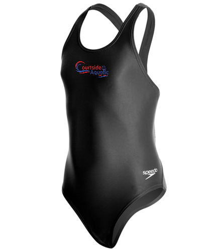 youth female powerflex  - Speedo PowerFLEX Eco Solid Super Pro Youth Swimsuit
