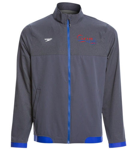 mens warm up jacket 2 - Speedo Men's Tech Warm Up Jacket