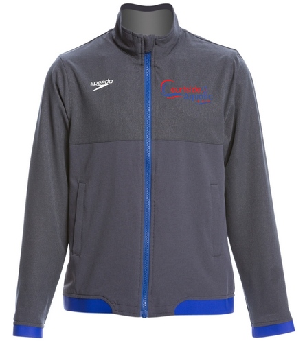 youth warm up jacket 2 - Speedo Youth Tech Warm Up Jacket