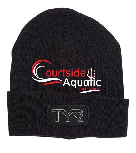 Courtside Aquatic  - TYR Unisex Solid Hat