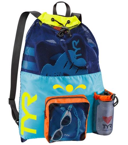SP bright mesh backpack  - TYR Big Mesh Mummy Backpack III