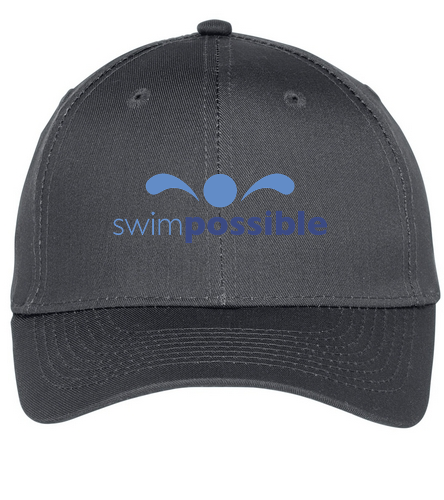 SwimPossible Baseball Cap - SwimOutlet Unisex Performance Twill Cap