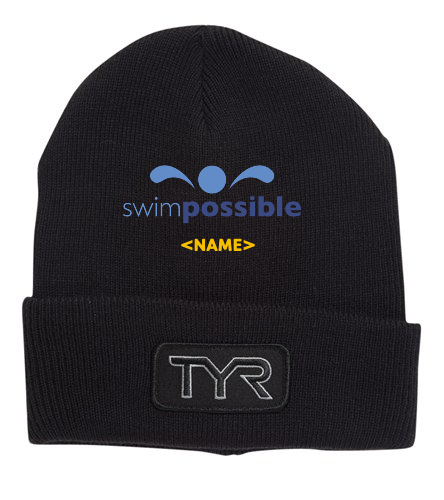SwimPossible Beanie - TYR Unisex Solid Hat