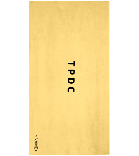 TPDC Towel  - Royal Comfort Terry Velour Beach Towel 32 X 64