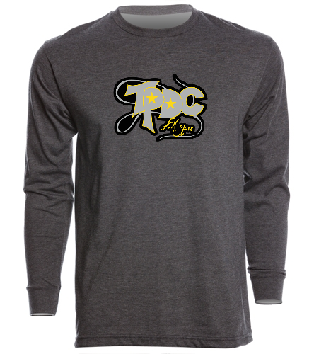 Long Sleeve_TPDC - SwimOutlet Unisex Long Sleeve Crew/Cuff