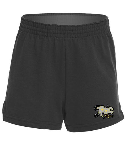 Girls Short_TPDC - SwimOutlet Custom Girls' Fitted Jersey Short