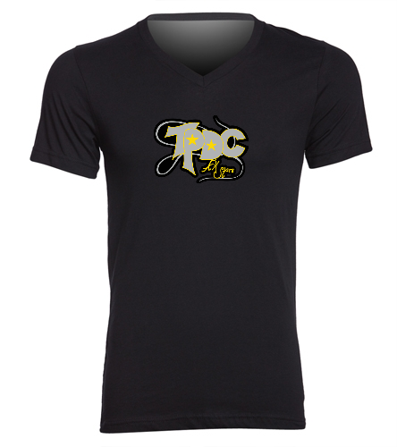 Team - Jersey Shirt - Bella + Canvas Men's Jersey Short Sleeve V-neck Tee