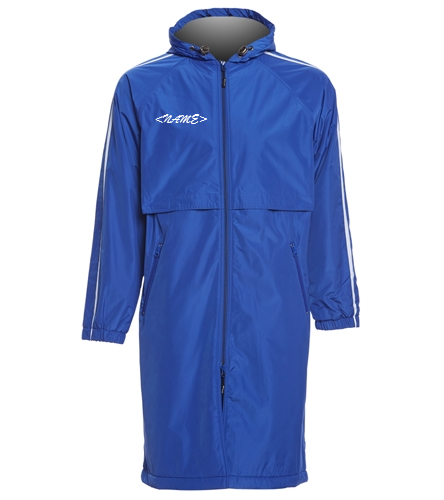 Adult SSS Striped Parka - Sporti Striped Comfort Fleece-Lined Swim Parka