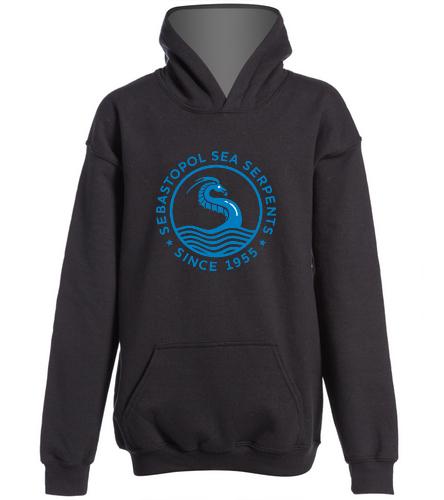 SSS Custom Youth Hoodie - SwimOutlet Youth Heavy Blend Hooded Sweatshirt