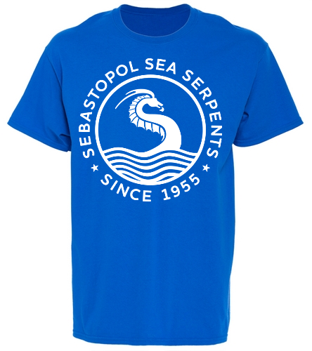 SSS Youth Royal T - SwimOutlet Youth Cotton Crew Neck T-Shirt