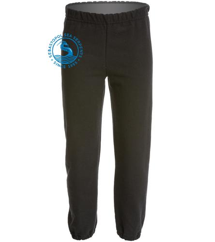black sweatpant - SwimOutlet Heavy Blend Youth Sweatpant
