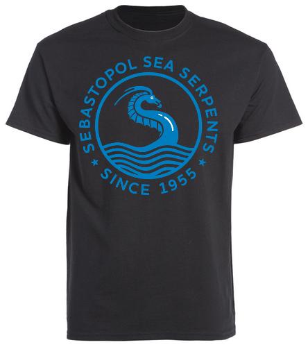 SSS Black T - SwimOutlet Cotton Unisex Short Sleeve T-Shirt