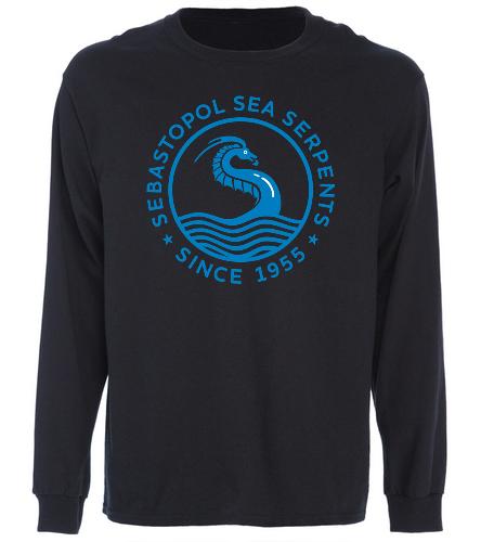 SSS Black Long Sleeve Shirt - SwimOutlet Cotton Unisex Long Sleeve T-Shirt