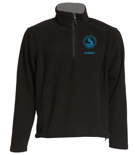 Adult SSS Fleece - SwimOutlet Adult Unisex Fleece 1/4-Zip Pullover